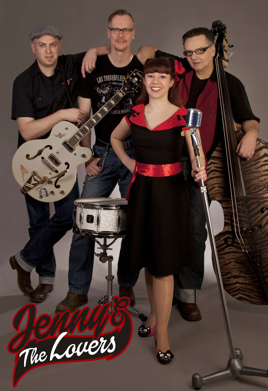 Jenny and the Lovers - Big Beat red Hot rock-A-Boogie